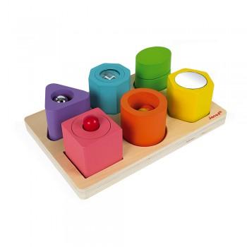 Puzzle 6 cubes sensoriels -...