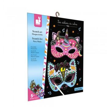 Scratch art masques de fête...
