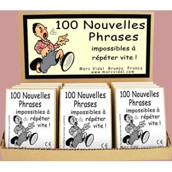 100 nouvelles phrases...