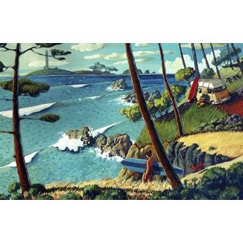 Puzzle bois BZH Surf Trip -...