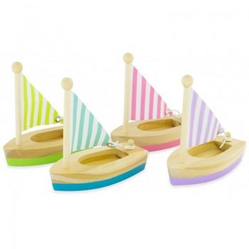 Petit voilier en bois - Ulysse