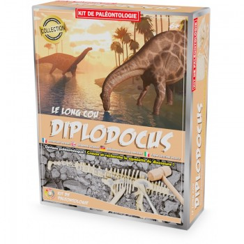 Kit paléo diplodocus - Ulysse