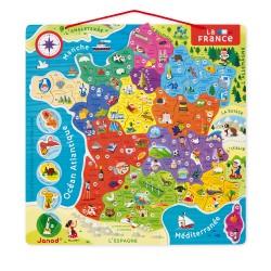 Puzzle France magnétique -...