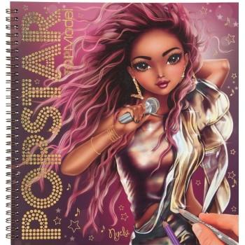 Top model album à colorier...