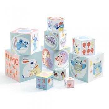 Cubes à empiler - Djeco