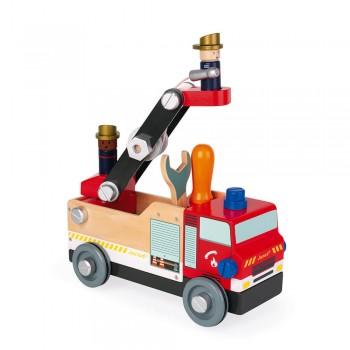 Camion pompiers brico'kids...