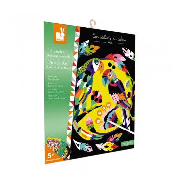 Kit créatif Scratch art...
