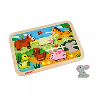 Chunky puzzle ferme