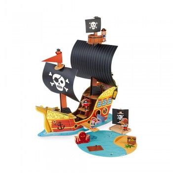 Bateau pirates story - Janod