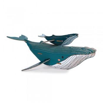 Puzzle baleine 3D en...