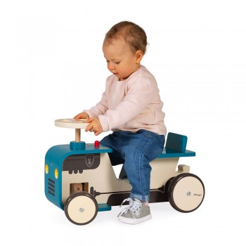 Porteur tracteur en bois -...