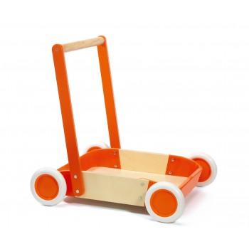 Chariot de marche orange...