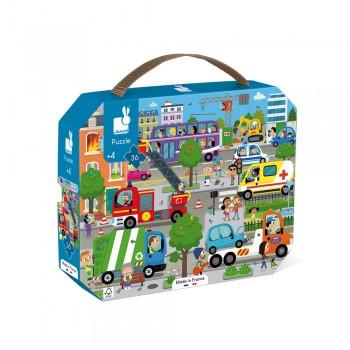 Puzzle city 36 pcs - Janod