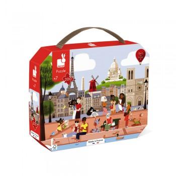 Puzzle Paris 200pcs - Janod