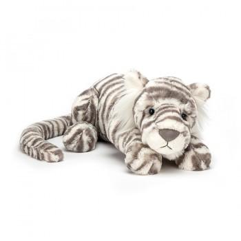 Peluche sacha tigre 45 cm -...